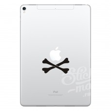 """Наклейка на ipad """"Пират"""""""