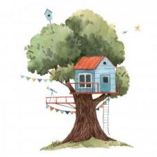 Домик на дереве 1  М76