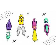 Яркие ракеты М109